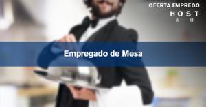 Empregado/a de Mesa - Lisboa