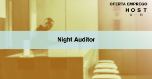 Night Auditor - Alcântara