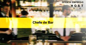 Chefe de Bar - Expo