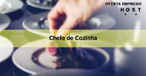 Chefe de Cozinha - Armação de Pêra