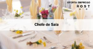Chefe de Sala - Lisboa