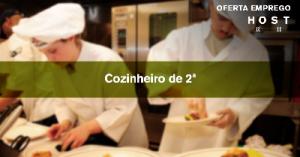 Cozinheiro de 2ª - Lisboa
