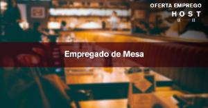 Empregado(a) de Mesa- Ericeira
