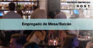 Empregado de Mesa/balcão - Lisboa