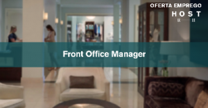 Front Office Manager - Cascais