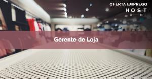 Gerente de Loja - Coimbra