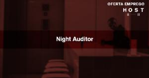 Night Auditor - Cascais