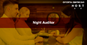 Rececionista / Night Auditor - Lisboa