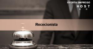 Recepcionista - Cascais