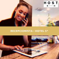 RECEPCIONISTA - HOTEL 5*