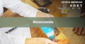 Recepcionista - Lisboa