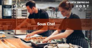 Sous-chef cozinha - Holanda