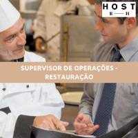 SUPERVISOR DE OPERAÇÕES - RESTAURAÇÃO
